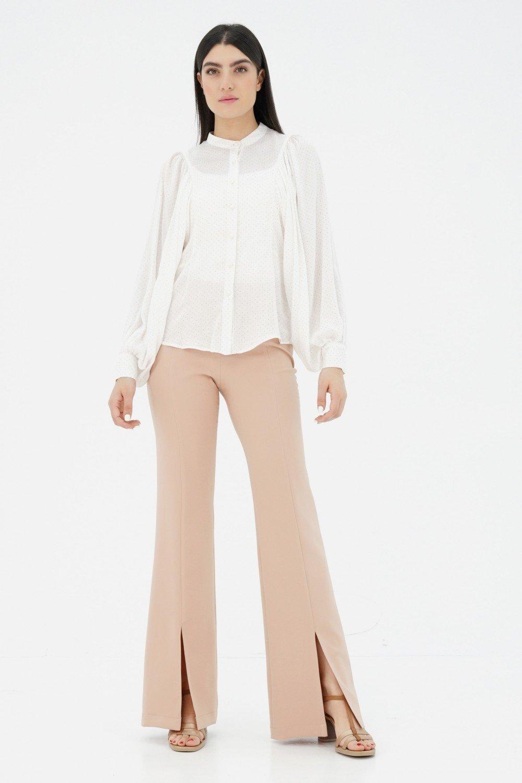 Pantalon flare femme