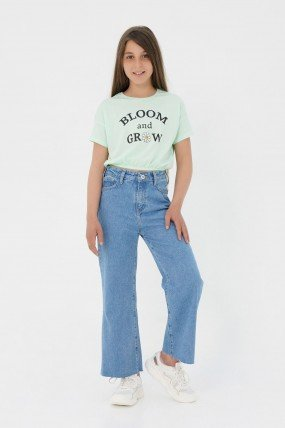 Jeans coupe wide leg
