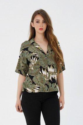 Chemise courte femme
