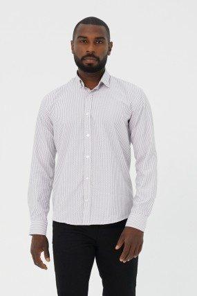 Chemise à rayure homme