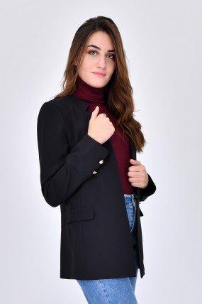 Veste femme avec col crante